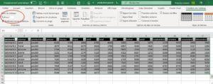 Nommer un tableau Excel